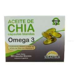 CHIA X 60 CAPS SOL AZTECA