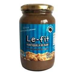 MANTEQUILLA DE MANI CON CHOCOLATE X 380 GR LE-FIT