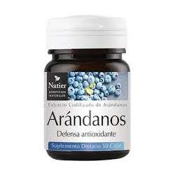 ARANDANOS CONCENTRADOS X 50 CAPS NATIER