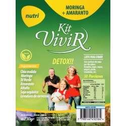 NUTRI MORINGA+AMARANTO X 230 GR KIT VIVIR