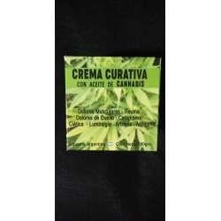 CREMA CURATIVA C/ ACEITE DE CANNABIS X 190 GR IMPORTADOS