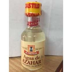 AGUA DE AZHAR X 30 CC. X 12 UNIDADES EL CASTILLO