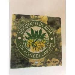UNGUENTO DE RUDA C/AC. CANNABIS X 190 GRS. PRODUCTOS IMPORTADOS
