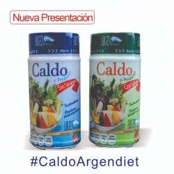 CALDO DE VERDURA C/SAL X 198 GR ARGENDIET