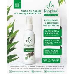 RESPIRA HERBAL SPRAY EUCALIPTUS X 75 ML PURA SOAP