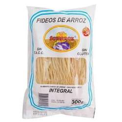 FIDEO DE ARROZ SABOR INTEGRAL SOYARROZ