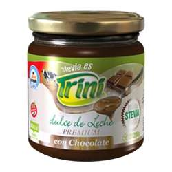 DULCE DE LECHE C/CHOCOLATE Y STEVIA X 200 GR TRINI