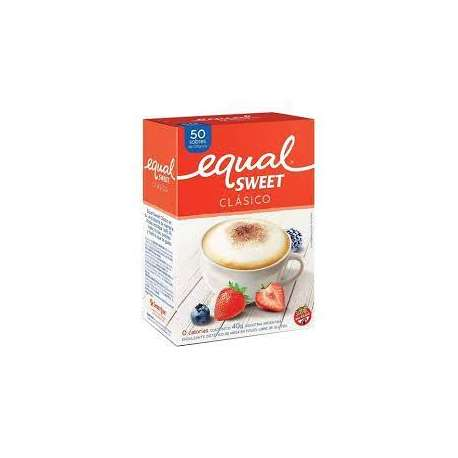 EQUALSWEET CLASICO SOBRES SAN SERVICE
