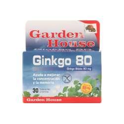 GINKO BILOBA 80MG. GARDEN HOUSE