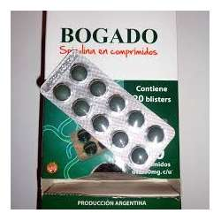 SPIRULINA X 10 BLISTER DE 10 COMP BOGADO