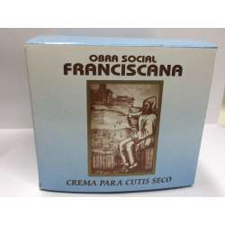 CREMA CUTIS SECO X 100 GR OBRA SOCIAL FRANCISCANA