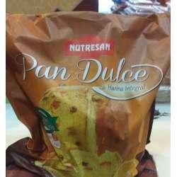 PAN DULCE C/CASCARA DE NARANJA Y PERLAS DE CHOCOLATE X 500 GR NUTRESAN