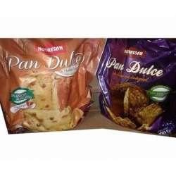 PAN DULCE C/HARINA INTEGRAL S/AZUCAR X 500 GR NUTRESAN