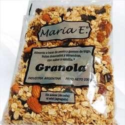 GRANOLA S/AZUCAR X 230 GR MARIA E