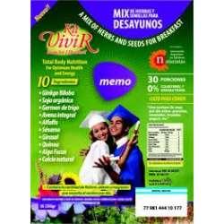 MEMORIA GINKGO BILOBA +RESVERATROL X 230 GR KIT VIVIR